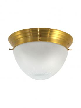 Markant Light Plafond, 1900, Mässing, Matt Glas