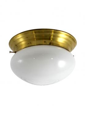 Markant Light Plafond, 1900, Mässing, Opal