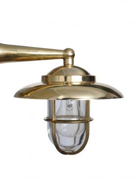 Marinlampa Högblank - Mässing