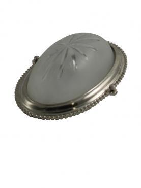Vägglampa, Silver