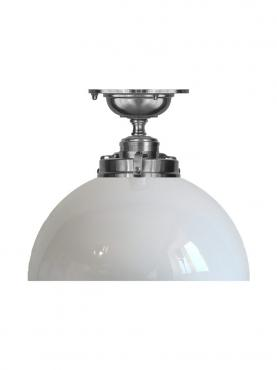 Markant Light Rörupphäng 80 Silver - Halvklot
