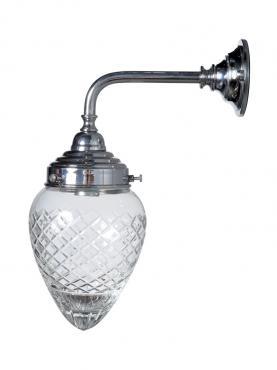 Markant Light Badrum 90 Krom - Kristall