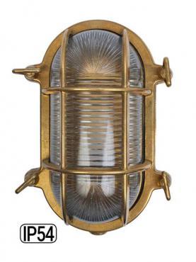 Marinlampa Mässing - Liten