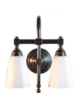 Markant Light Dubbel Svanhals - Antikbehandlad