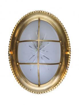 Markant Light Ovalplafond - Mässing