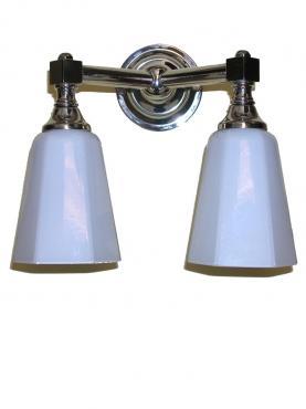 Markant Light Dubbelarm - Krom