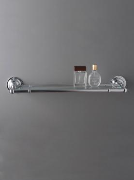 Markant Light Glashylla för badrum
