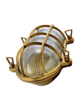 Antikmagasinet Marinlampa Mässing - Stor