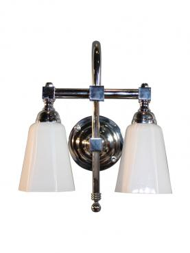 Markant Light Svanhals Dubbel - Krom